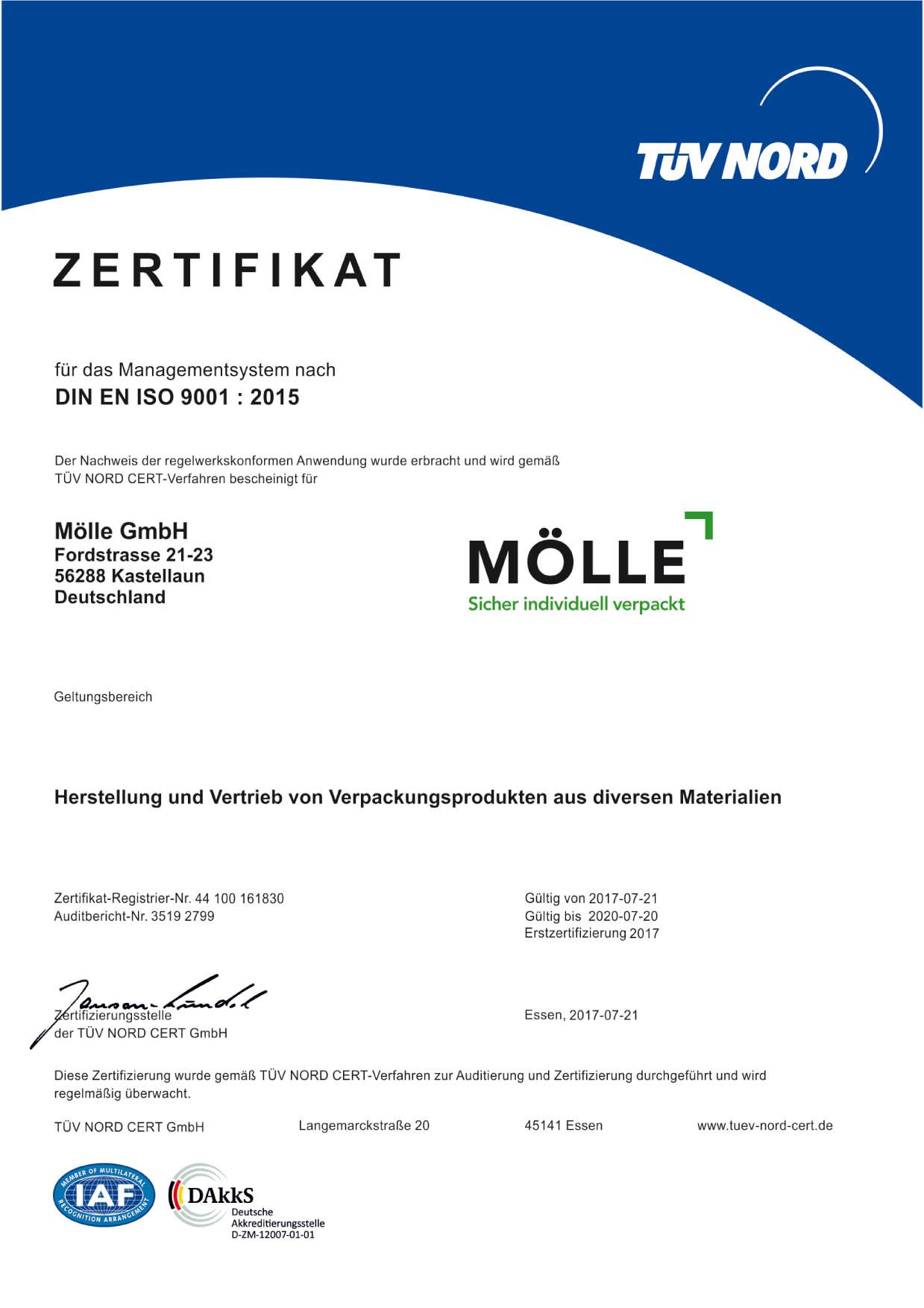 Moelle GmbH - Transportschutz