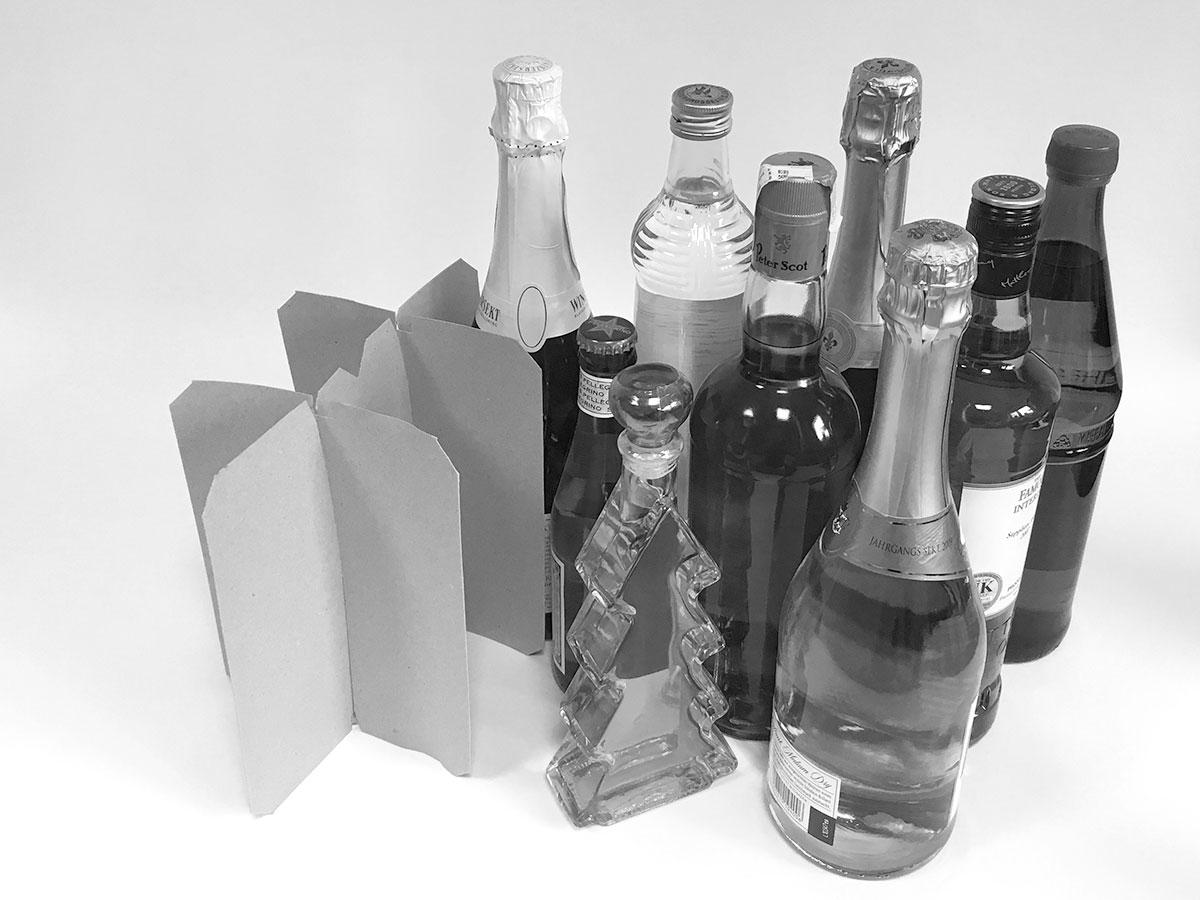 Transport- und Schutzverpackungen, Gittereinsätze und Kartonagen für Getränke - MÖLLE GmbH